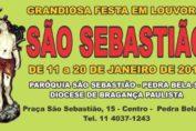 Festa de São Sebastião em Pedra Bela-SP