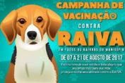 Campanha de vacinação contra a Raiva 2017
