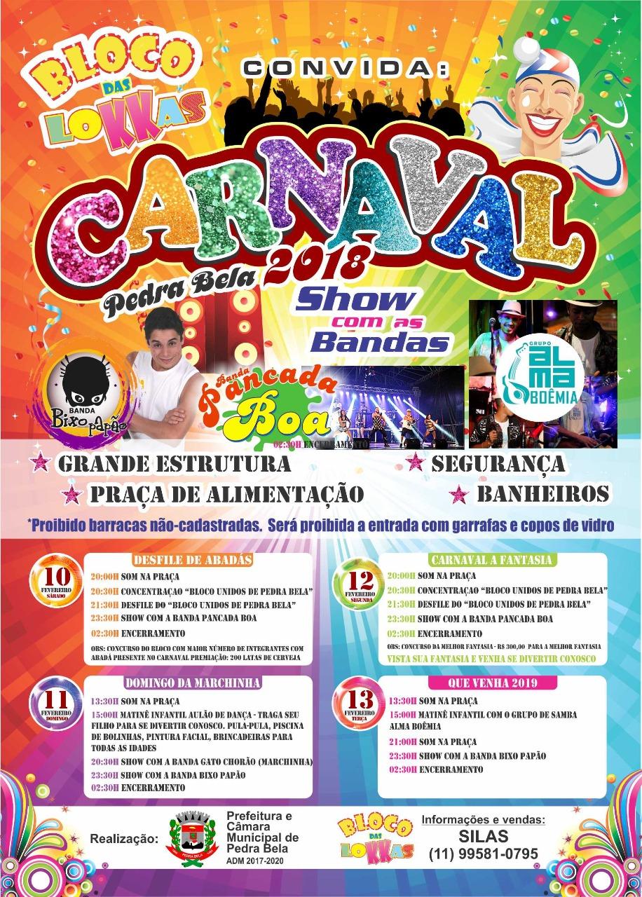Carnaval em Pedra Bela 2018